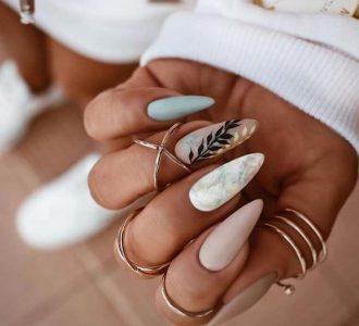 Лучший белый маникюр — 110 фото основных тенденций и вариантов дизайна ногтей 2021 года